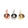 Bulk small smidgen metal stainless steel solid scoop hanging brass copper rose gold round narrow measuring cups and spoons 3 buyers
