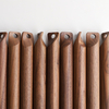 High-grade natural black walnut wood rolling pin for baking dumpling ravioli dough