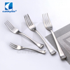 18/10 stainless steel fork spoon knife banquet cutlery set, silver flatware