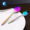 Colorful PVD coating 18/10 stainless steel cutlery colored flatware sets