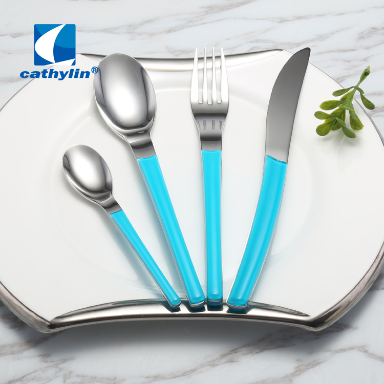 Cathylin hot sale ABS handle stainless steel cutlery sets